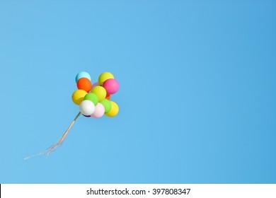 plastic balloons