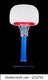 Children's Plastic Basketball Hoop