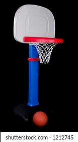 Children's Plastic Basketball Hoop with Ball