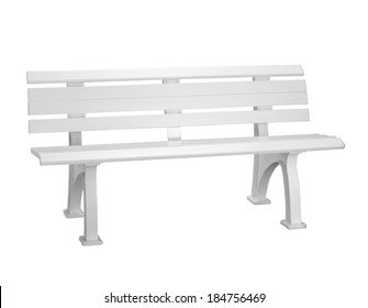plastic bench  background