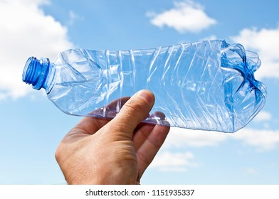 Plastic bottle pollution of environmet
