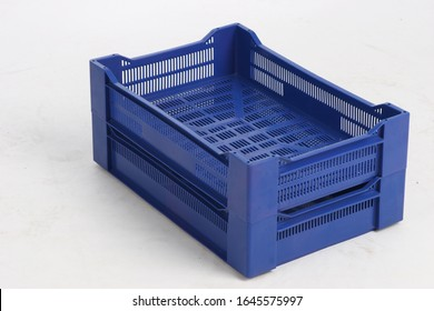 plastic box on a white background