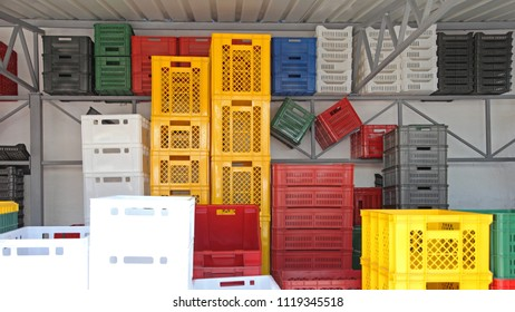 Plastic Boxes and Boxes for Transport Goods