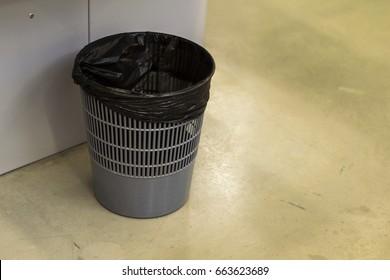 plastic bucket for debris
