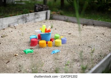 Seashell Sand Pit Box Water Garden Play Fun Plastic Outdoor