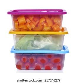 塑料容器与食品