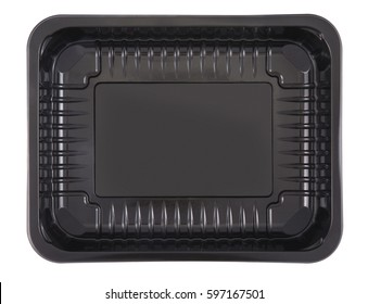 Plastic container on white background.Clipping Path