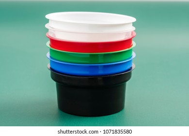 plastic containers for storage and sale of semetain and cheese and sauces and other food liquids
