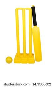 Plastic Cricket Ball & Bat Indoor & Outdoor Kids Sport Garden Play Set