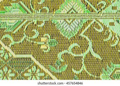 Plastic doormat background