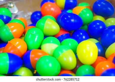 plastic eggs for game