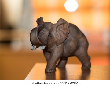 plastic elephant figurine bringing good luck