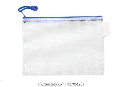 Plastic file bag