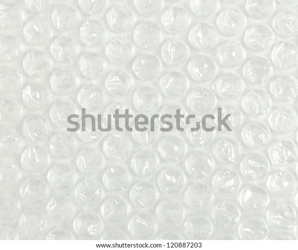 Plastic Foam Cushioning Packing Material Stock Photo (Edit