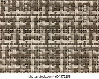 Plastic knit pattern