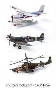 plastic model aircraft