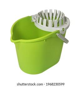 Plastic Mop Bucket with wringer