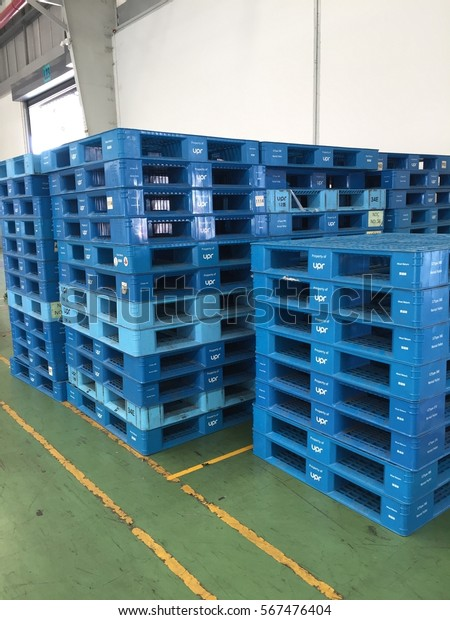 Plastic Pallet Which Can Be Lifted Stock Photo (Edit Now) 567476404