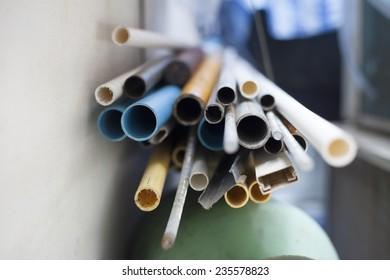 plastic pipe