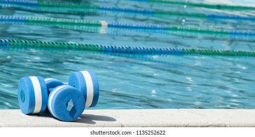 Plastic pool weights