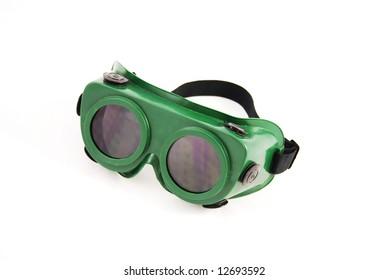 Plastic protect goggles
