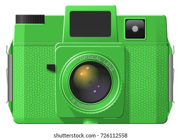 Plastic Toy Camera Illustration