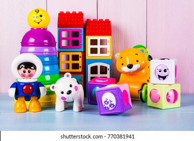 plastic toys collection