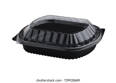 Plastic tray food