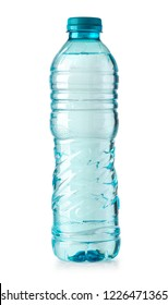 plastic water bottle isolated on white background with clipping path