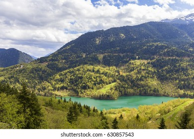 Plastira lake in Central Greece