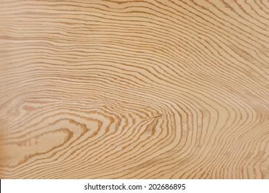 Plate of beautiful cedar wood