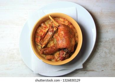 plate of castelnaudary cassoulet