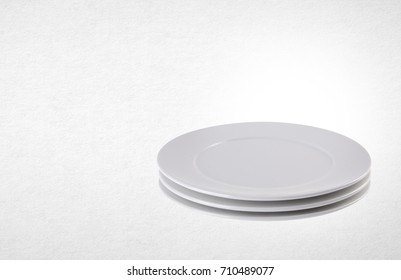 plate or ceramic tableware on the background