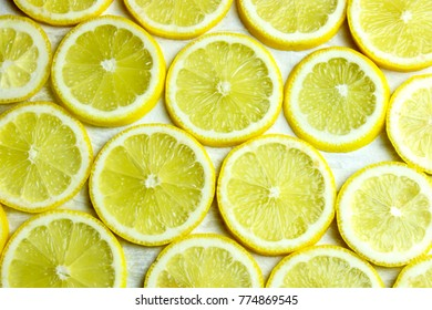a plate of citrus