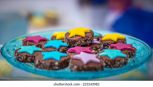 Plate of cookies for a party