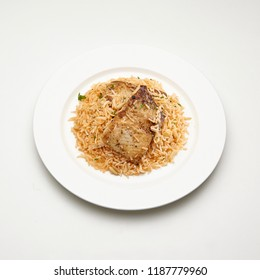 A plate of fish kabsa