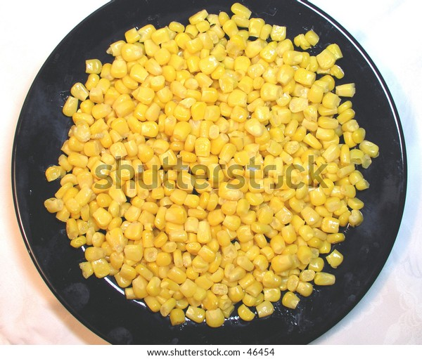 Plate full of maize