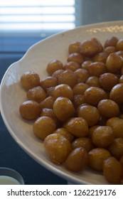 plate of lokma desert