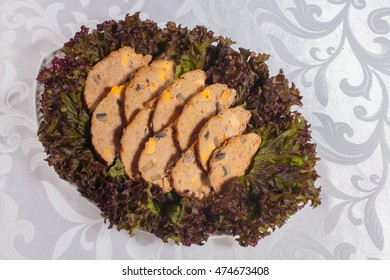 a plate of stuffed fish