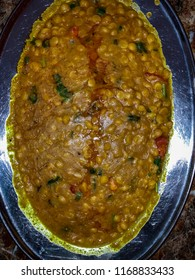 A plate of traditional Daal Channa Fry