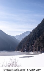 Plateau natural scenery, shot in Sichuan Province, China