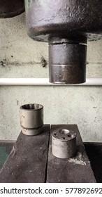 Platforms for steel industry in garage