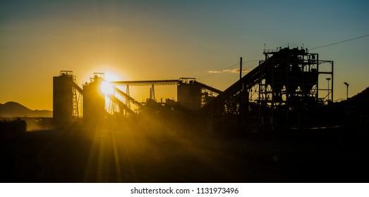 Platinum Mine in North West, South Africa