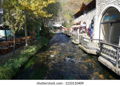 Plava Coda, Travnik - October 11,2018 : Autumn view