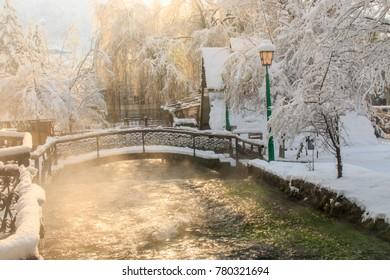 Plava voda, Travnik, BiH, December 2017.