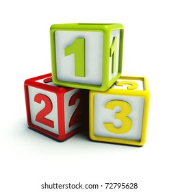 Play blocks 1 - 2 - 3