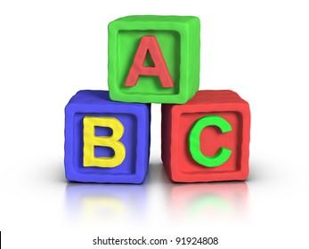 Play blocks : ABC