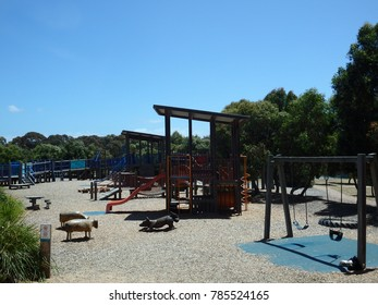 Play ground in southern victoria, australia