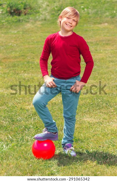 Play Me Full Length Nice Smiling Stock Photo Edit Now 291065342