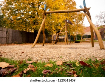play space for children autumn longing